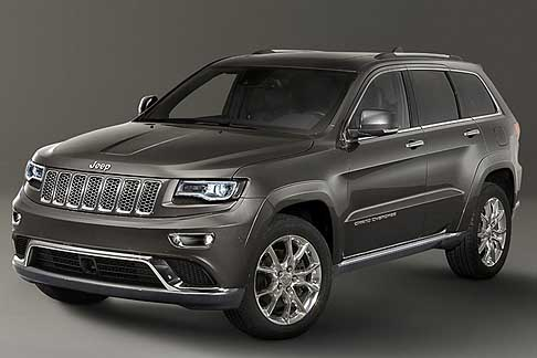Jeep - Suv Jeep Grand Cherokee Model Year 2014 al Salone di Ginevra 2013