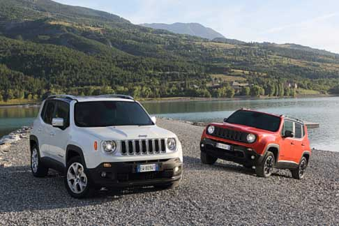 Jeep Renegade - Jeep Renegade Trailhawk e Jeep Renegade Limited HP (white)