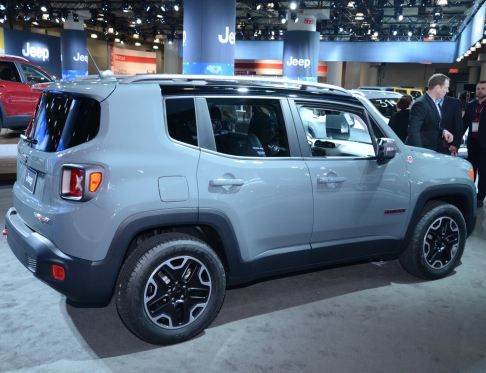 Jeep - Jeep Renegade in passerella al New York Auto Show 2014