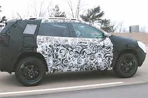 Jeep - Jeep spy cars Model Year 2015