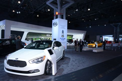 Kia Motors - Stand Kia at the 2014 New York International Auto Show