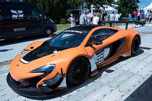 Cronoscalata di auto storiche - McLaren 650s GT3 at the Goodwood Festival of Speed 2015