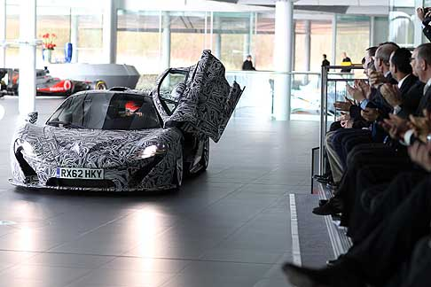 McLaren - McLaren P1 Concept car nel McLaren Technology Center
