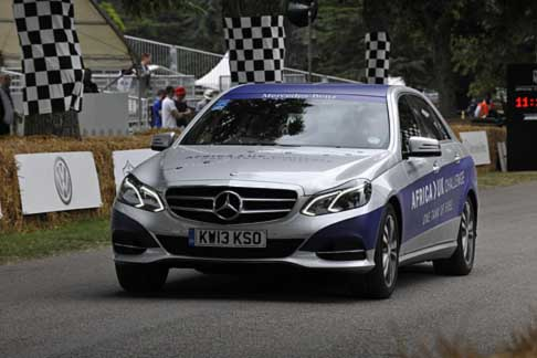 Mercedes-Benz - Mercedes-Benz E 300 BlueTEC Hybrid SE Saloon a Goodwood Festival of Speed 2014