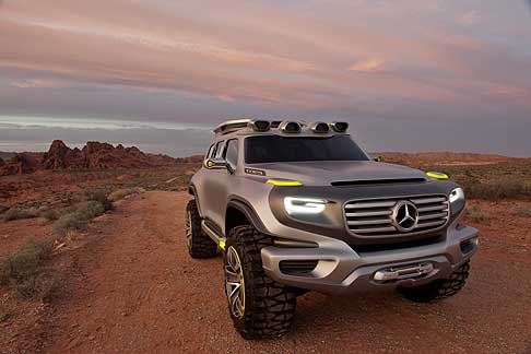 Mercedes - Mercedes-Benz Ener-G-Force off road destinato alle forze armate