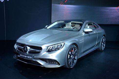 Mercedes-Benz - Mercedes-Benz S63 AMG 4MATIC Coupè world premiere at the 2014 New York AUto Show