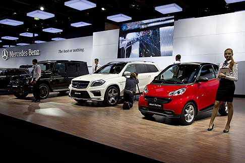 Mercedes - Mercedes-Benz and Smart at the Moscow Motor Show 2012