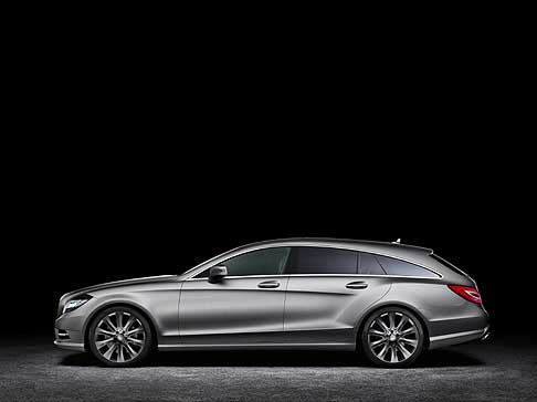 Mercedes - Mercedes CLS Shooting Brake fiancata laterale