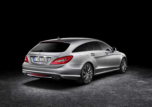 Mercedes - Auto Mercedes CLS Shooting Brake retro vettura