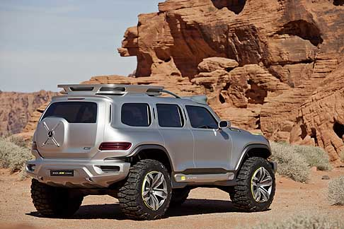 Mercedes - Mercedes Ener G Force off road for tomottow il fuoristrada del 2025 della casa tedesca