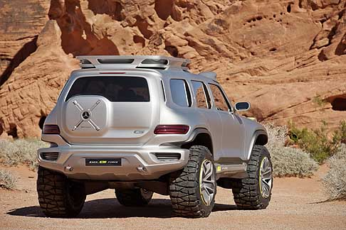 Mercedes - Mercedes-Benz Ener G Force off-road auto futuristica