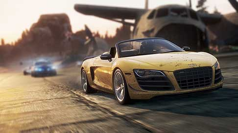 Videogames - Audi R8 per il videogioco Need For Speed - Most Wanted