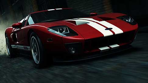 Videogames - Need For Speed - Most Wanted con la vettura sportiva  Ford GT