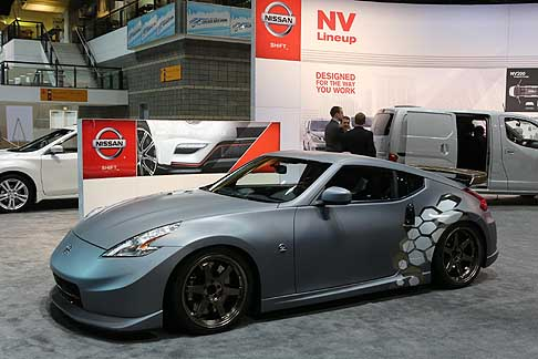 Nissan - Nissan 370Z at the Chicago Motor Show 2013