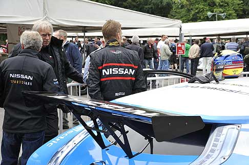 Nissan - Nissan Leaf Nismo RC alettone posteriore Goodwood Festival of Speed