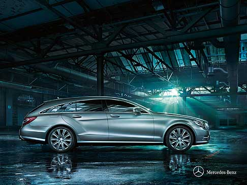 Mercedes - Nuova Mercedes CLS Shooting Brake è una coupé a due volumi dal design elegante ed innovativo