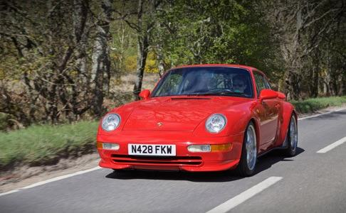 Auto Storiche all´asta - Porsche 993 RS all´Asta Coys a Ascot