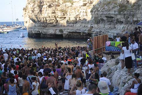 Cliff Diving a Polignano - Premiazione finale donne al Red Bull Cliff Diving World Series 2015