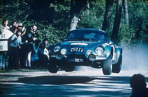 Alpine-Renault - Renault-Alpine A110 Berlinette - Portugal Rally 1973