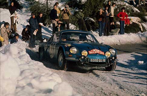 Alpine-Renault - Renault Alpine A110 Berlinette - Monte Carlo Rallye with Ove Andersson, 1971