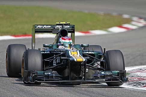 Caterham - Caterham F1 Team - Vitaly Petrov during the Italy Grand Prix d´Italia, 2012