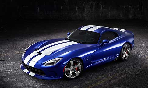 SRT - SRT Viper GTS Launch Edition in edizione limitata presentato a Pebble Beach