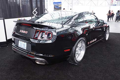 Shelby - Shelby 1000 SC supercar al Salone di New York 2013