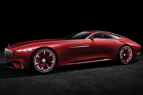 Mercedes-Benz - Vision Mercedes-Maybach 6 Study of an ultra stylish luxury Class Coupé 2016