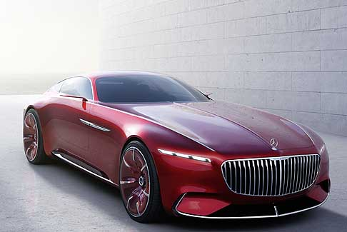 Mercedes-Benz - Vision Mercedes Maybach 6 Concept 2016 premiere a Pebble Beach in California
