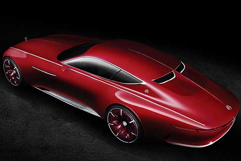 Mercedes-Benz - Vision Mercedes-Maybach 6 vetri posteriori bassi a split window