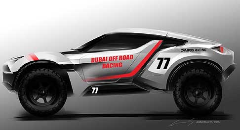 Zarooq Motors - Zarooq Sand Racer Dubai off road racing