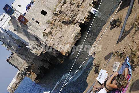 Tuffi alta quota Polignano a Mare - Atmosfere Red Bull Cliff Diving World Series 2017 a Polignano a Mare