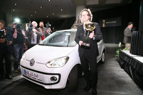 Volkswagen - Nella press conference avvenuta durante il New York International Auto Show, la Volkswagen Up! è stata dichiarata World Car of the Year 2012.