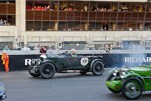 Bentley - Bentely on the move Le Mans Classic