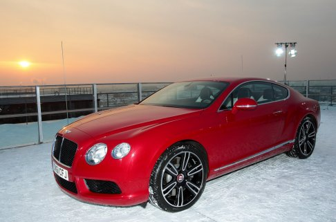 Bentley - Bentley Continental V8  40% better Fuel Efficiency