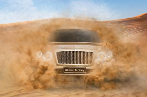 Bentley - Bentley SUV la prima immagine