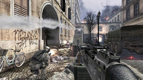 Call of Duty - Call of Duty: Modern Warfare 3  pubblicato da Activision  e sviluppato da Infinity Ward, Sledgehammer Games e Raven Software per il multiplayer