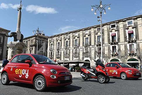 Enjoy - Car Sharing Enjoy presentato a Catania