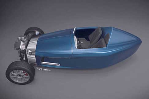 "Castle - Castle Three ""crowd funding"" retro three wheeler"
