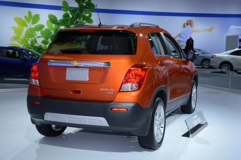 chevrolet - Chevrolet Trax LTZ AWD Model Year 2015
