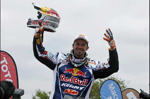 Dakar 2013 - Dakar 2013 vincitore categoria bike Cyril Despres