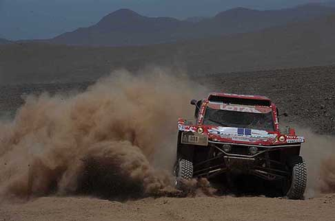 Rally Dessoude - Dakar stage 8 - Rally Cars Dessoude Buggy Oryx driver Magnarldi Thierry