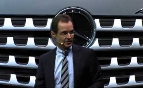 Mercedes-Benz - Dr Jorg Zurn - Head of Product Engineering Mercedes-Benz Trucks