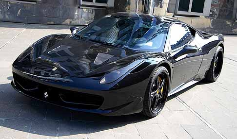 Ferrari - Ferrari 458 Black Carbon Edition