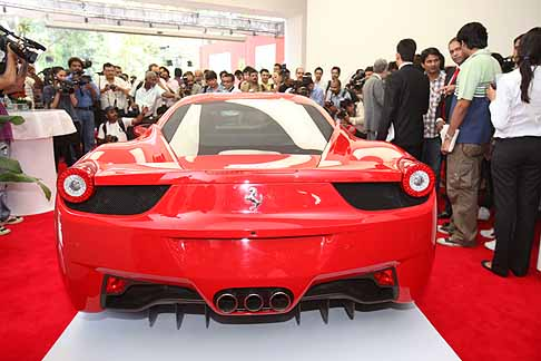 Ferrari - Ferrari sbarca in India show room