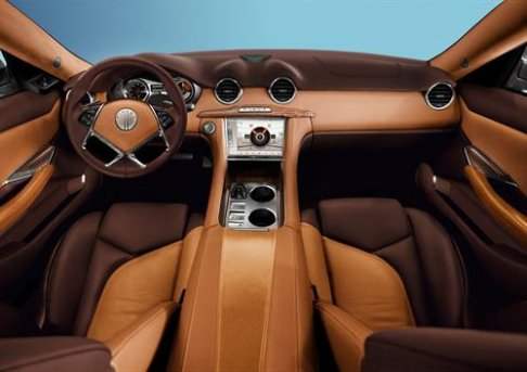 Fisker - Fisker-karma interni vettura della Bridge of Weir Leather Company