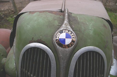 BMW - Frazer Nash Bmw 320 Bertelli Brothers old cars