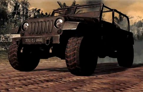 Jeep - Games Jeep Wrangler Black Ops