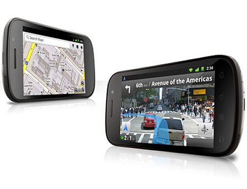 Samsung - Google Nexus S come navigatore satellitare