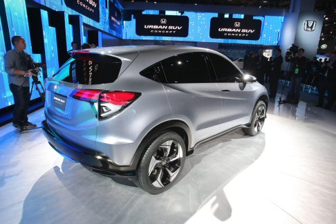 Honda - Il concept Urban SUV sarà alimentato dalla Earth Dream Technology, efficiente tecnologia Honda.